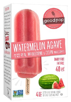 Watermelon Agave Pops 4pk