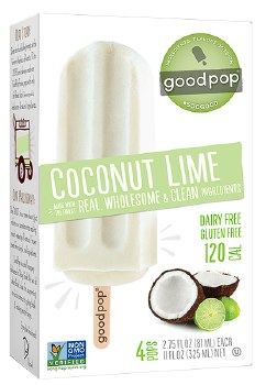 Coconut Lime Freezer Pops 4pk