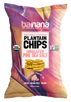Plantain Chips Pink Salt 5oz