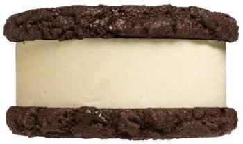 Thick Mint Ice Cream Sandwich