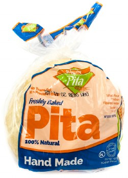 White Pita Bread 12.5oz