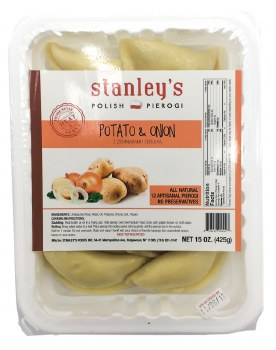 Potato Onion Pierogi 15oz