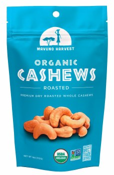 Roasted Unsalted Cashews 4oz