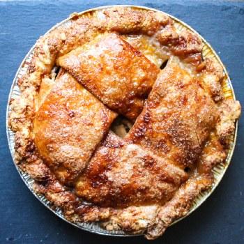 "Salted Caramel Apple Pie 8"""