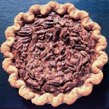 "Chocolate Pecan Pie 8"""