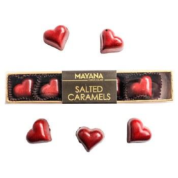 Salted Caramel Hearts 5 Piece