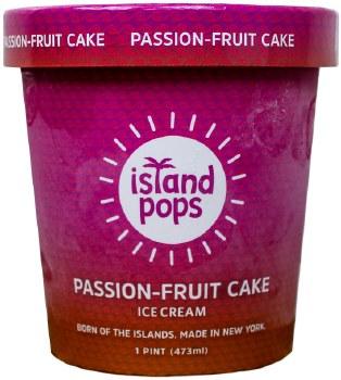 Passion Fruit Cake Ice Cream 1pt