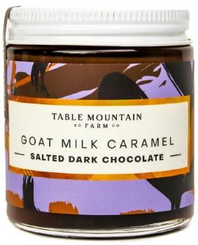 Salted Dark Chocolate Goat Milk Caramel 5oz