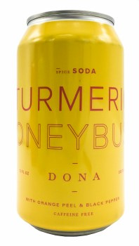 Turmeric Honeybush Soda 12oz
