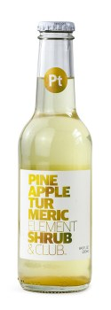 Pineapple Shrub Soda 8.45oz