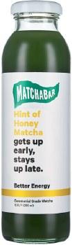 Hint of Honey Iced Matcha 10oz