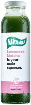 Lemon Iced Matcha Tea 10oz