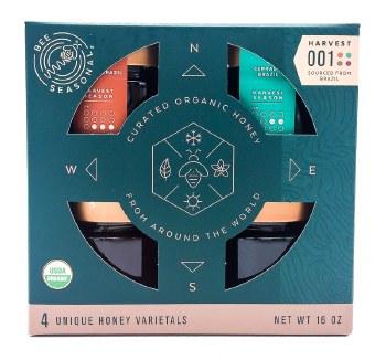 Organic Honey Gift Set