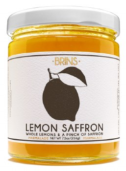 Lemon Saffron Jam 7.5oz