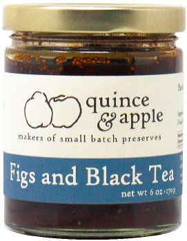 Figs and Black Tea Preserves 6oz
