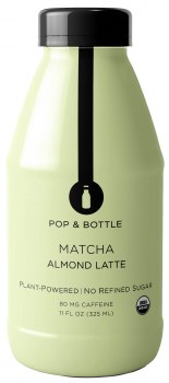 Matcha Almond Milk 11oz