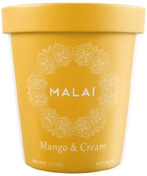 Mango & Cream Ice Cream 1pt
