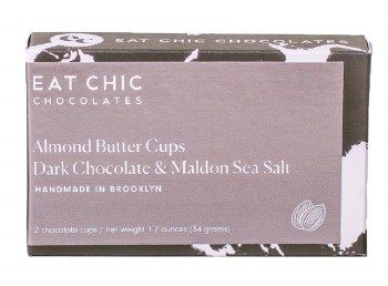 Dark Chocolate Almond Cup 2pk