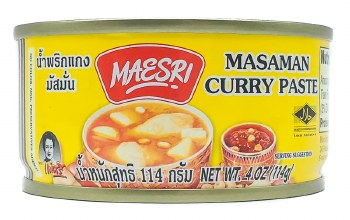Masaman Curry Paste 4oz