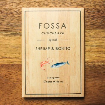 Shrimp & Bonito Chocolate 40g