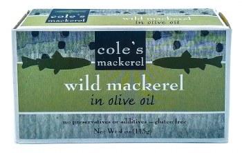 Wild Mackerel 4.4oz