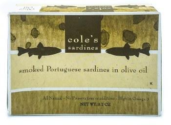 Smoked Sardines in Olive Oil 4.4oz