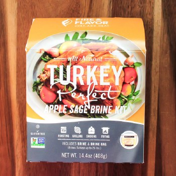 Apple Sage Turkey Brine Kit 14.4oz