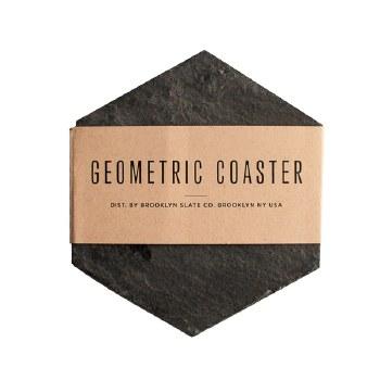 Geometric Slate Coasters 5 Piece
