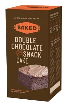 Double Chocolate Snack Cake 21oz