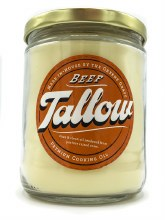 Rendered Beef Tallow 9oz