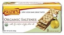 Organic Saltine Crackers 8.8oz