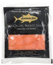 Organic Smoked Irish Salmon 4oz