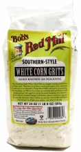 White Corn Grits 24oz