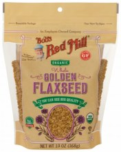 Organic Golden Flax Seed 24oz