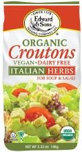 Organic Italian Herb Croutons 5.25oz