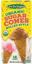 Sugar Cones 4.6oz