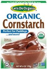Organic Cornstarch 8oz