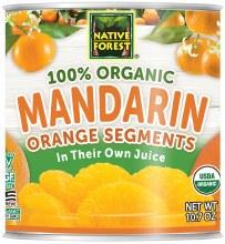 Organic Mandarin Oranges10.75o
