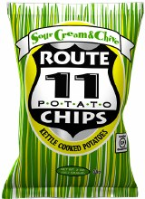 Sour Cream and Chives Chips 2oz