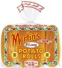 Potato Hot Dog Buns 8ct