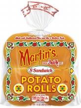 Potato Burger Buns 8ct