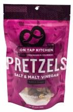 Salt and Malt Vinegar Pretzels