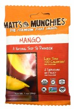 Mango Fruit Snacks 1oz
