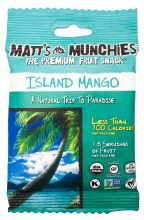 Island Mango Fruit Snacks 1oz