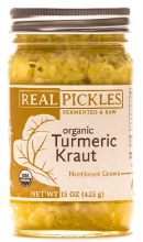 Raw Turmeric Kraut 15oz