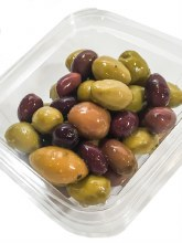 Greek Olives, Mixed (1/2lb)