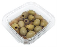 Green Olives, Pitted (1/2lb)