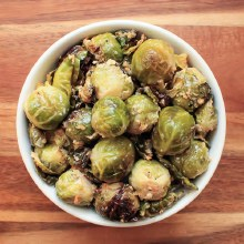 Parmesan Roasted Brussel Sprouts (1/2lb)
