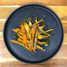 Chipotle-Rubbed Carrots (1/3lb)