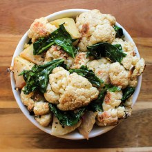 Cauliflower & Kohlrabi Salad